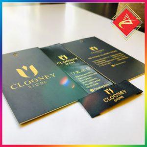 Xưởng in Nhãn mác ACCA Thẻ treo thẻ tag thẻ bài in nhan mac quan ao nhanh