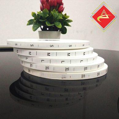 Xưởng in Nhãn mác ACCA phụ liệu bán sẵn mác size mác số in nhãn mác nhanh