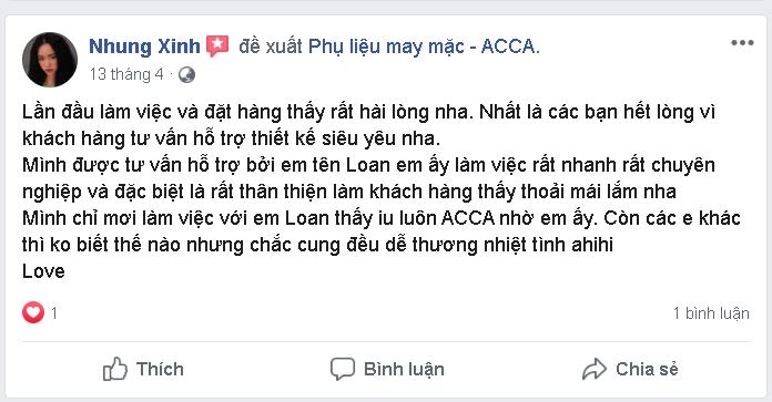 Nhan xet cua khach hang voi ACCA