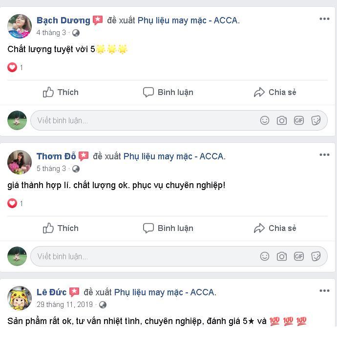 Nhan xet danh gia cua khach hang voi ACCA