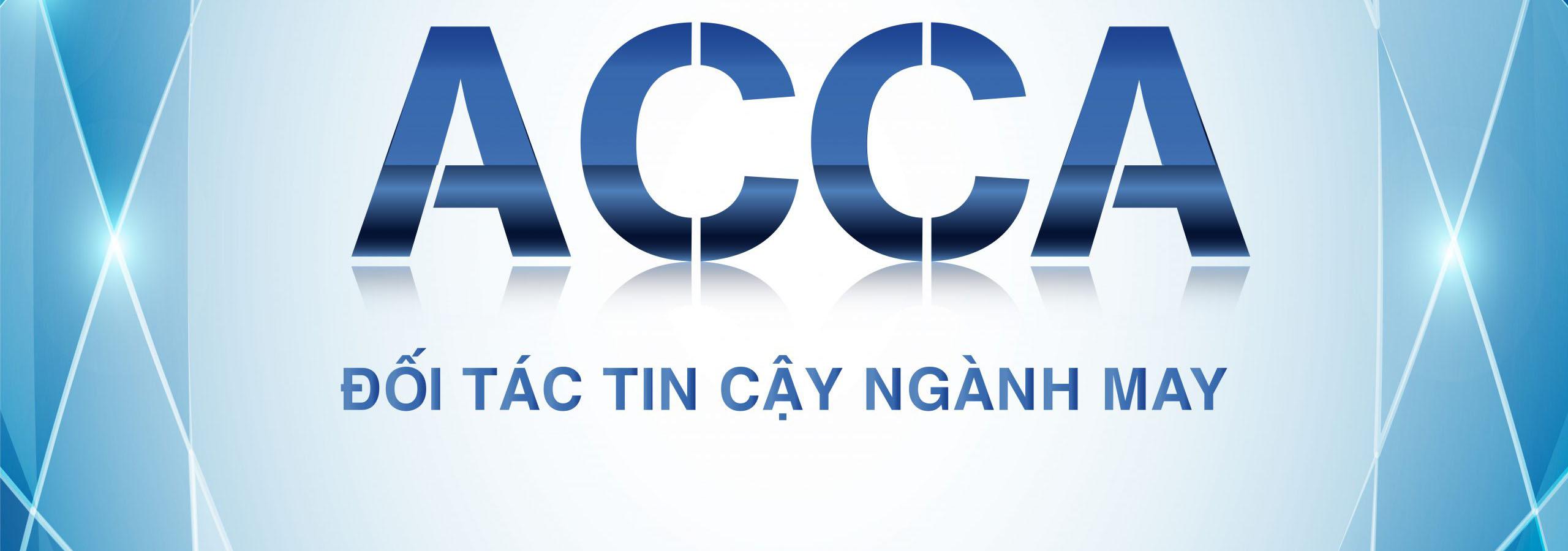 ACCA in nhãn mác quần áo chuyên nghiệp