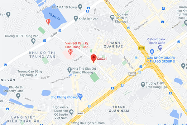 Map in nhan mac acca