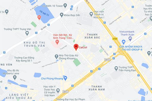 Map in nhan mac acca