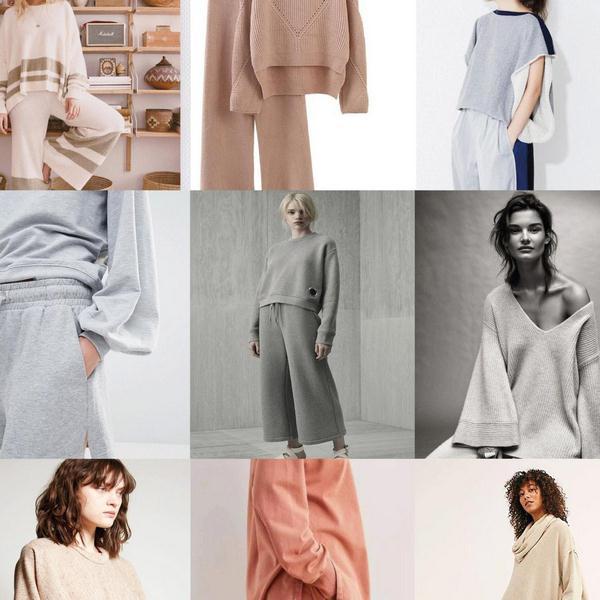 Phong cách đồ loungewear